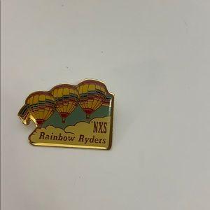 NXS Rainbow Ryders | Vintage Hot Air Balloon Pin